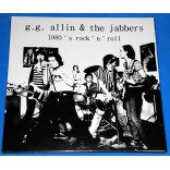 G.G. Allin & The Jabbers - 1980's Rock' n' roll - Lp Lacrado